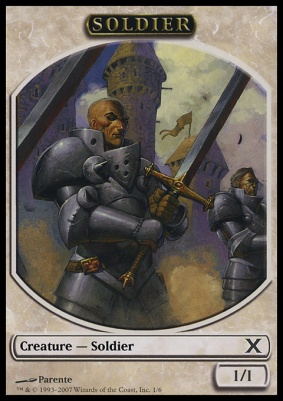 10th Edition: Soldier Token