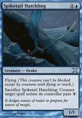 10th Edition: Spiketail Hatchling