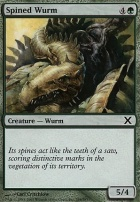 10th Edition: Spined Wurm