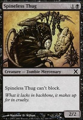 10th Edition: Spineless Thug