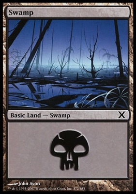 10th Edition: Swamp (372 A)