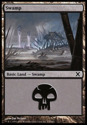 10th Edition: Swamp (374 C)