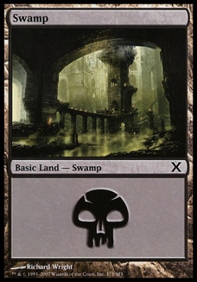 10th Edition: Swamp (375 D)
