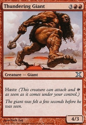 10th Edition: Thundering Giant