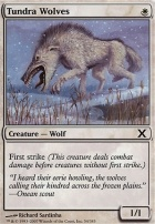 10th Edition Foil: Tundra Wolves