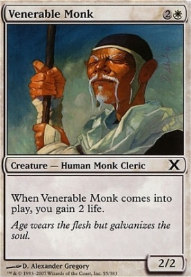 10th Edition: Venerable Monk
