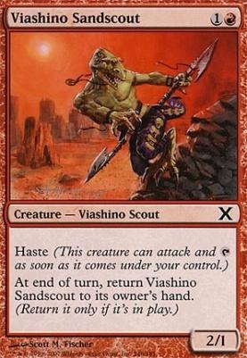 10th Edition: Viashino Sandscout