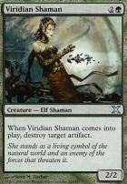 10th Edition: Viridian Shaman