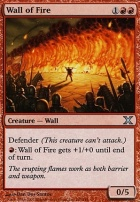 10th Edition: Wall of Fire