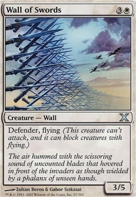10th Edition: Wall of Swords