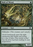 10th Edition Foil: Wall of Wood