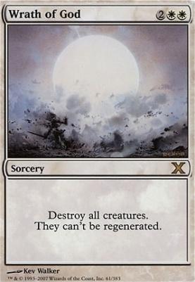 10th Edition: Wrath of God