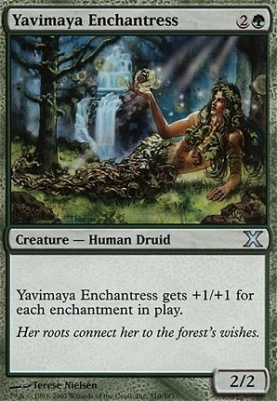10th Edition: Yavimaya Enchantress