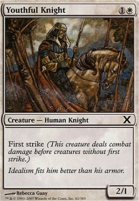10th Edition: Youthful Knight