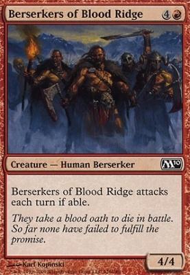 2010 Core Set: Berserkers of Blood Ridge