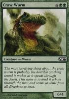 2010 Core Set Foil: Craw Wurm