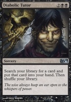 2010 Core Set Foil: Diabolic Tutor