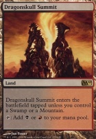 2010 Core Set Foil: Dragonskull Summit