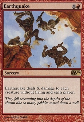 2010 Core Set: Earthquake