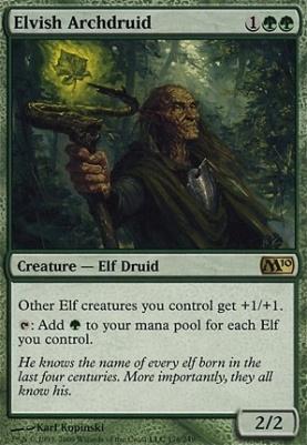2010 Core Set Foil: Elvish Archdruid