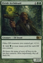 2010 Core Set Foil: Elvish Archdruid