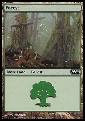 2010 Core Set: Forest (246 A)