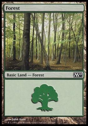 2010 Core Set Foil: Forest (247 B)