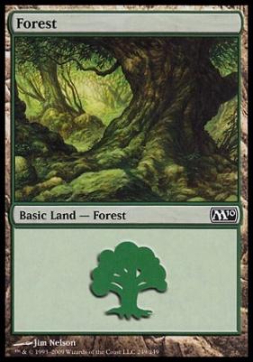 2010 Core Set: Forest (249 D)