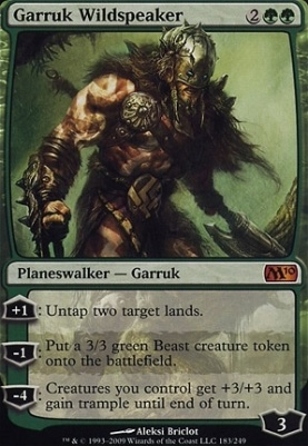 2010 Core Set: Garruk Wildspeaker