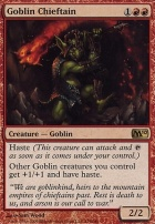 2010 Core Set Foil: Goblin Chieftain