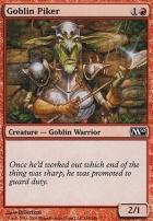 2010 Core Set Foil: Goblin Piker