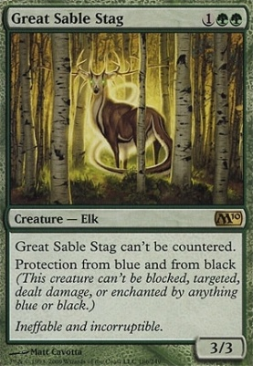 2010 Core Set: Great Sable Stag
