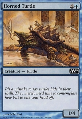 2010 Core Set Foil: Horned Turtle