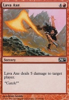 2010 Core Set: Lava Axe