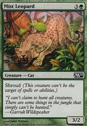 2010 Core Set Foil: Mist Leopard