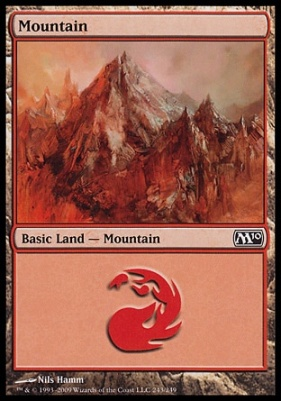 2010 Core Set: Mountain (243 B)