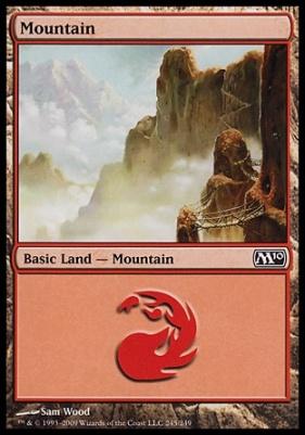 2010 Core Set: Mountain (245 D)