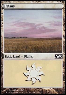 2010 Core Set: Plains (230 A)