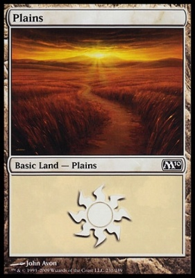 2010 Core Set: Plains (231 B)