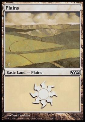 2010 Core Set: Plains (232 C)