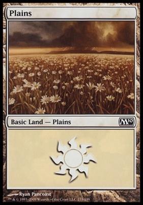 2010 Core Set: Plains (233 D)