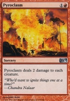 2010 Core Set Foil: Pyroclasm
