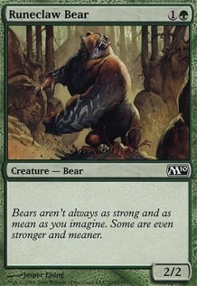 2010 Core Set Foil: Runeclaw Bear