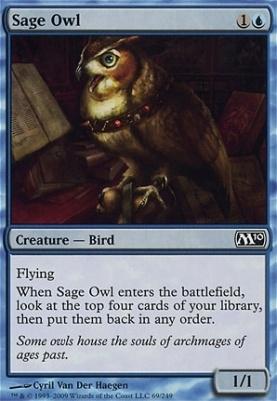2010 Core Set: Sage Owl