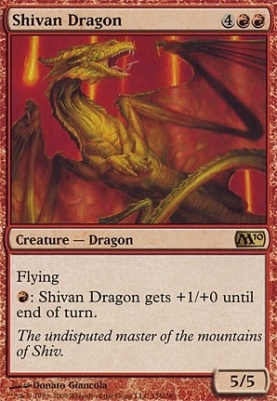 2010 Core Set: Shivan Dragon