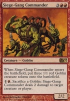 2010 Core Set: Siege-Gang Commander