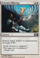 2010 Core Set: Solemn Offering