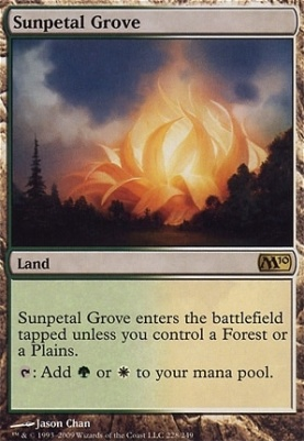 2010 Core Set: Sunpetal Grove