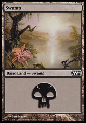 2010 Core Set: Swamp (238 A)