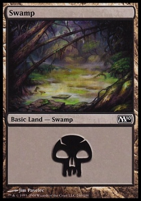 2010 Core Set Foil: Swamp (240 C)